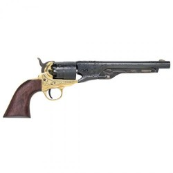 Traditions FR186012 1860 Army Black Powder Revolver
