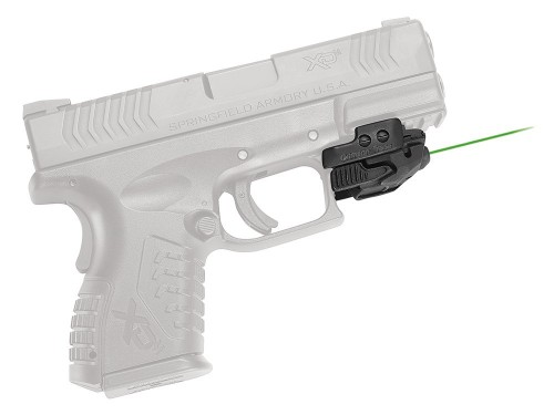 Crimson Trace Rail Master Green Laser Sight,Black,Universal Fit CMR-206