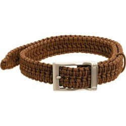 GATCO TIMBERLINE 550  PARACORD SURVIVAL  BELT LG COYOTE TAN WAIST 38-42