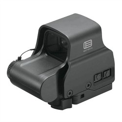 EOTech XPS2 Green Holographic Weapon Sight w/Green Reticle, Black, XPS2-0GRN