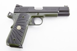 Wilson Combat X-TAC Elite, Full-Size, .45 ACP, Black/Green