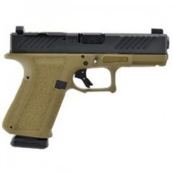 SHAS MR918 9MM FDE FRAME COMBAT SLIDE DLC BBL