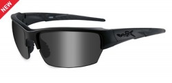 Wiley X WX Saint Black Ops Sunglasses - Smoke Grey Lens / Matte Black Frame, CHSAI08