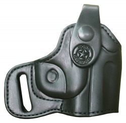 Bond Arms Holster Right Handed Thumbsnap For Back-up Leather Black