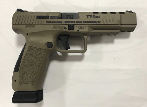 Canik TP9SFX Flat Dark Earth 9mm 5.25-inch 20Rds