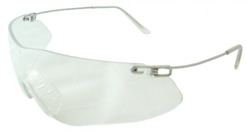Radians Clay Pro Shooting Glasses, Clear Lenses, CP5710CS
