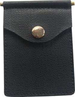 Concealed Carrie CONCEALED CARRIE COMPAC WALLET BLACK LEATHER