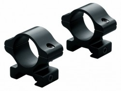 Leupold Rifleman Aluminum Detachable Rings Low - Matte black