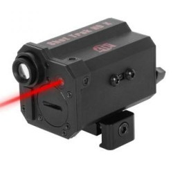 American Technologies Network ShotTrak-X HD Weapon Action Camera With Red Laser 5 Megapixel CMOS Black