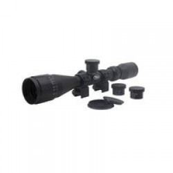 BSA Optics Sweet 270 3-9x40 AO Riflescope, .270, 2 Dovetail Rings, Black, 270-39X40AOWRTB