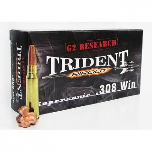 G2 Research RIP Trident RIPOUT Brass .308 Win 20Rds