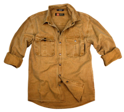 Kakadu Traders Australia, Inc. McLead Shirt 10oz Washed Gravel Canvas