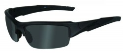 Wiley X WX Valor Black Ops Sunglasses - Smoke Grey Lens / Matte Black Frame, CHVAL01