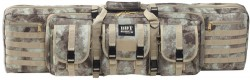 Bulldog Cases 37in Double Tactical Rifle Case, Au Camo, BDT60-37AU