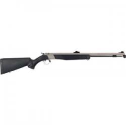 CVA Wolf Northwest Stainless Steel/Black Muzzleloader with Fiber-Optic Sights