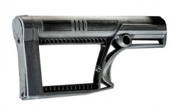 Luth-AR MBA-2 Skullation Black Fixed AR-15 / AR-10 Rifle Stock