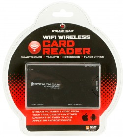 GSM STEALTH CAM WIFI WIRELESS CARD READER FOR ANDROID AND IOS