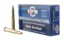 PPU 303 BRITISH SP 150GR 20/200