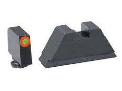 Ameriglo Tritium Front Rear Tall Suppressor Set, green orange GL-511
