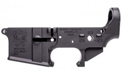 Spikes Tactical Pipe Hitters Union Joker Forged Stripped AR-15 Lower Aluminum