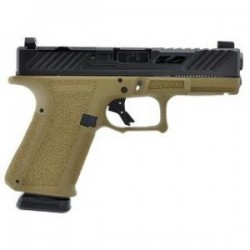 SHAS MR918 9MM FDE FRAME EO SLIDE DLC BBL