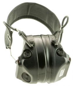 PELTOR COMTAC III HEARING DEFENDER TACTICAL BLACK