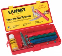 Lansky Standard Three-Stone Knife-Sharpening System
