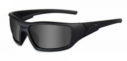 Wiley X CENSOR Black Ops Edition Polarized Safety Sunglasses, Smoke Gray Lens, Matte Black Frame, SSCEN08