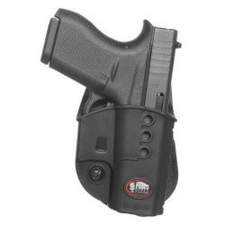 Fobus Evolution Paddle Holster for Glock 42, Black GL42NDLH