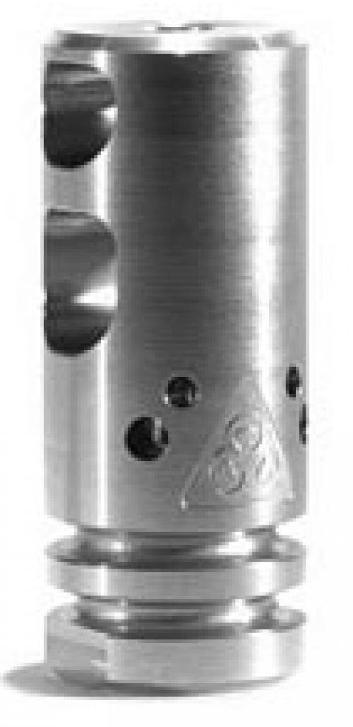 Black Rain Ordnance Competition Compensator Machined Finish .223 Rem