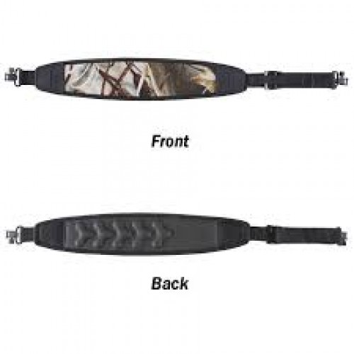 Vanguard Neoprene Sling, Brown Camo, Metal Hardware