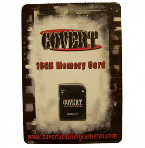 Covert Scouting Cameras 2830 16GB Mico SD with
