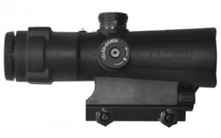 Lucid P7 Weapons Optic 4x Picatinny Rail Mount P7 Reticle Waterproof
