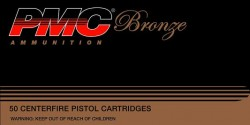 PMC 38G Bronze 38 Special Full Metal Jacket 132 GR 50Box/20Case