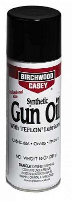Birchwood Casey Synthetic Gun Oil with Ptfe Lubricant - Natural