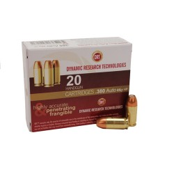 Dynamic Research 81155 Terminal Shock 380ACP +P JHP 85GR 20Box/50Case