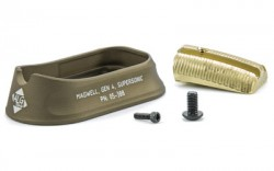 ALG Defense Supersonic Magwell for Gen 4 For Glock 177/22/24/31/34/35 in FDE