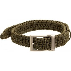 GATCO TIMBERLINE 550  PARACORD SURVIVAL  BELT SM  OD WAIST 26-30