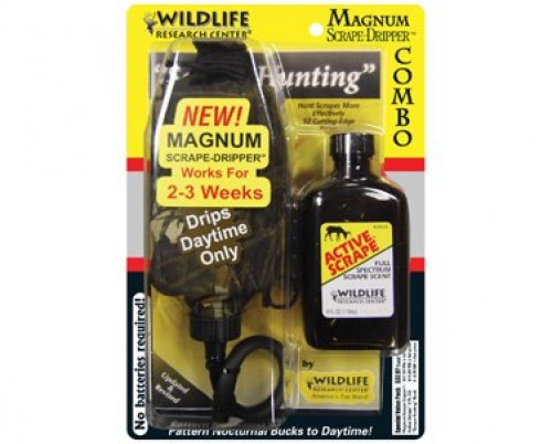 Wildlife Research Active Scrape/Magnum Scrape-Dripper Combo
