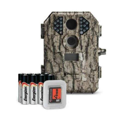 Stealth Cam PX18 IR Trail Camera Combo w/Batteries and 8 GB SD Card, Clam Pack STC-PX18CMO