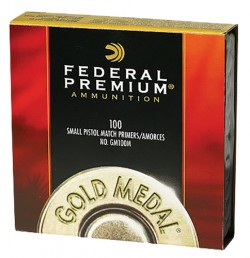 FEDERAL GOLD MEDAL MATCH PRIMER .210 LARGE RIFLE MATCH 100 COUNT