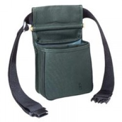 Boyt Harness 419T DIVIDED SHELL POUCH W/BELT GREEN