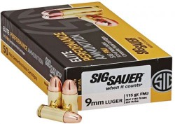 Sig Sauer CART BALL 9MM 147GR