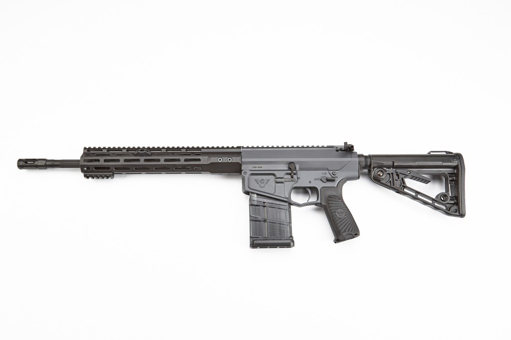 "Wilson Combat Recon Tactical Rifle, .308 Winchester, 16"" Barrel, 1-11.25 Twist, Fluted, Gray"
