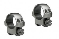 Ruger 1-inch Scope Ring Low Stainless