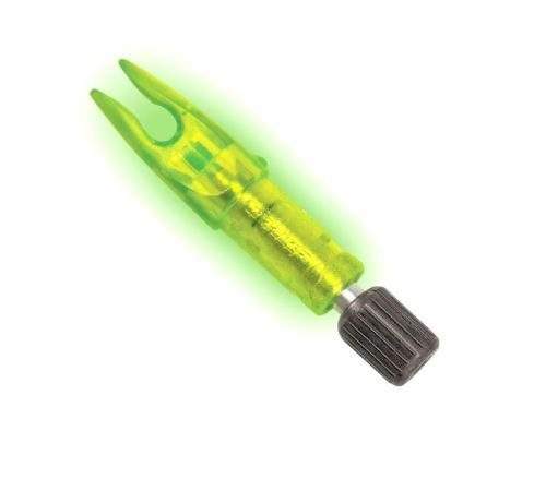 Carbon Express Launchpad Illuminated Nocks, 3 Pack, Green