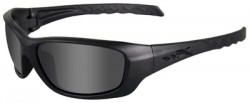 Wiley X WX Gravity Black OPS Sunglasses - Smoke Grey Lens / Matte Black Frame, CCGRA01