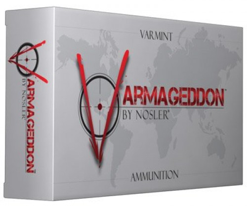 Nosler Varmageddon Rifle Ammunition