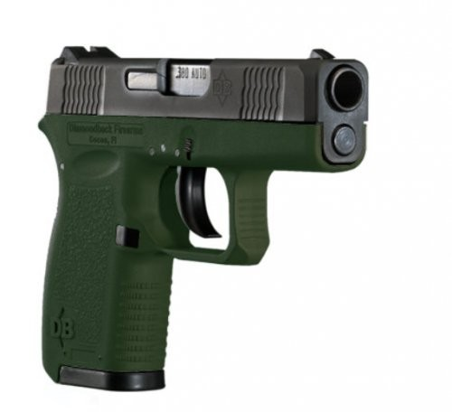 Diamondback DB380 OD Green .380ACP 2.8-inch 6rd