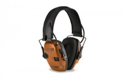 Howard Leight Impact Sport Bolt Electronic Earmuff, Orange, One size fits most, R-02231